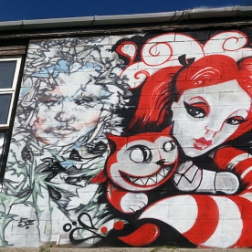 Project in conjunction with TED x Brighton. Painted with DIAZ57, Mishfit, REQ, Thomas Mcnulty and myself.