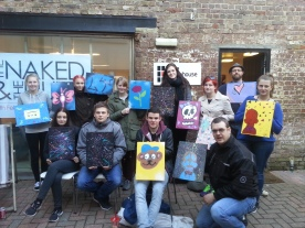 Spray paint workshop. March 2014