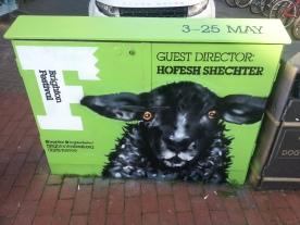 Brighton Festival box. March 2014.
