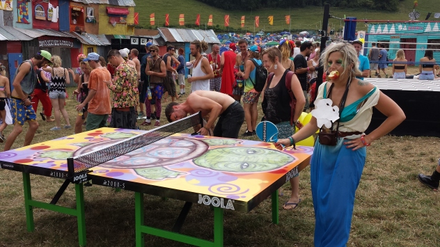 Pongplexed Tables @ Boomtown 2014