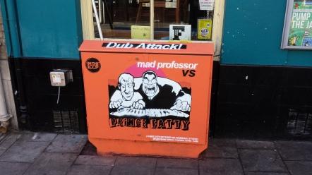 Prince Fatty Vs Mad Professor box campaign
