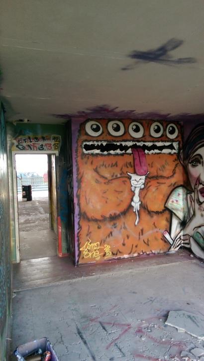 Pussy licker. Teufelsberg. Berlin 2015