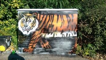 Tiger.Exotic Creatures project. Box Art. 2015.