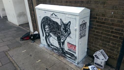 Catus Pardus. Exotic Creatures project. Box art. 2015.