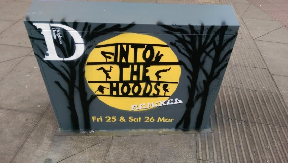 Into the Hoods box art for Brighton Dome. 2016
