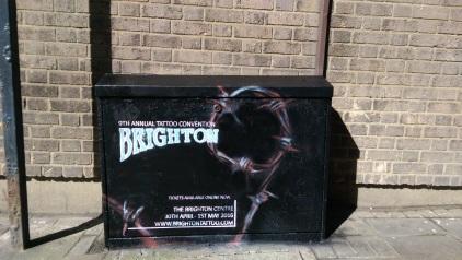 Box art. Brighton Tattoo Convention. 2016