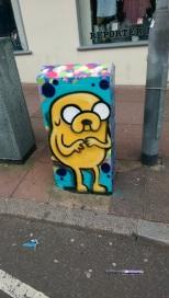 Box art. Jake the dog. 2016